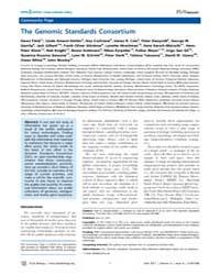 Plos Biology : the Genomic Standards Con... by Amaral-zettler, Linda