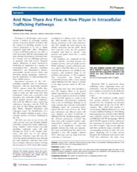 Plos Biology : and Now There Are Five ; ... by Public Library of Science (Plos)
