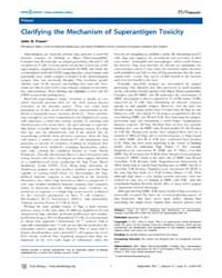 Plos Biology : Clarifying the Mechanism ... by Public Library of Science (Plos)