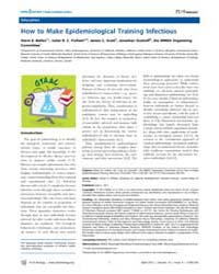 Plos Biology : How to Make Epidemiologic... by Kerfeld, Cheryl A.