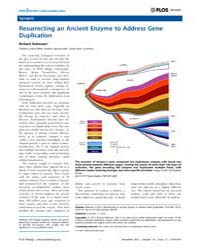 Plos Biology : Resurrecting an Ancient E... by Public Library of Science (Plos)