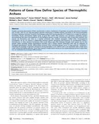 Plos Biology : Patterns of Gene Flow Def... by Barton, Nick H.