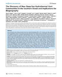 Plos Biology : the Discovery of New Deep... by Eisen, Jonathan A.