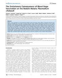 Plos Biology : the Evolutionary Conseque... by Koshy, Nicole R.