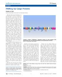 Plos Biology : Pairing up Cargo Proteins... by Public Library of Science (Plos)