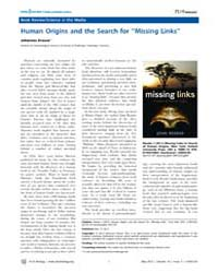 Plos Biology : Human Origins and the Sea... by Public Library of Science (Plos)