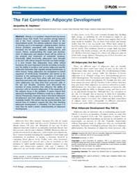 Plos Biology : the Fat Controller ; Adip... by Public Library of Science (Plos)