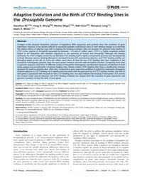 Plos Biology : Adaptive Evolution and th... by Ellner, Stephen P.