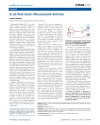 Plos Biology : Il-26 Kick-starts Rheumat... by Public Library of Science (Plos)