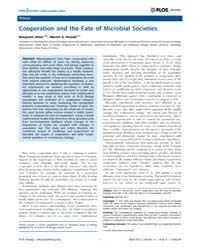 Plos Biology : Cooperation and the Fate ... by Allen, Benjamin