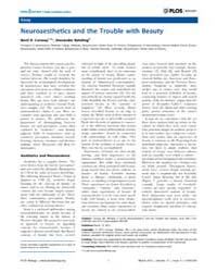 Plos Biology : Neuroaesthetics and the T... by Conway, Bevil, R.