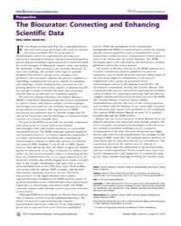 Plos Computational Biology : the Biocura... by McEntyre, Johanna