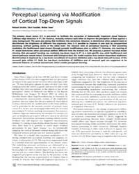 Plos Computational Biology : Perceptual ... by Friston, Karl, J.