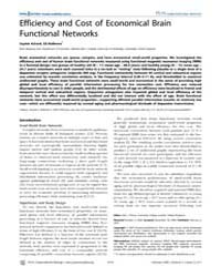 Plos Computational Biology : Efficiency ... by Friston, Karl, J.