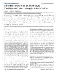 Plos Computational Biology : Emergent Dy... by Petrie, Howard