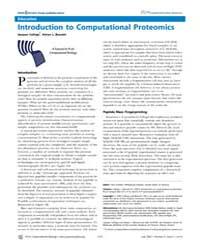 Plos Computational Biology : Introductio... by Lewitter, Fran