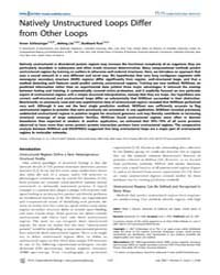 Plos Computational Biology : Natively Un... by Bourne, Philip, E.