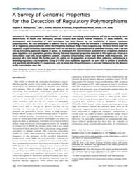 Plos Computational Biology : a Survey of... by Pilpel, Yitzhak