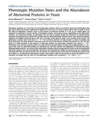 Plos Computational Biology : Phenotypic ... by Meyers, Lauren, Ancel