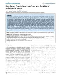 Plos Computational Biology : Regulatory ... by Regev, Aviv