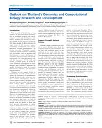 Plos Computational Biology : Outlook on ... by Bourne, Philip, E.