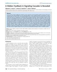 Plos Computational Biology : a Hidden Fe... by Sauro, Herbert, M.