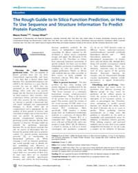 Plos Computational Biology : the Rough G... by Lewitter, Fran