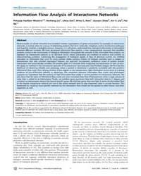 Plos Computational Biology : Information... by Slonim, Donna