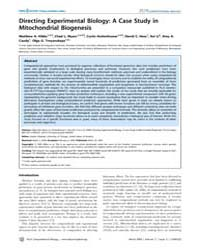 Plos Computational Biology : Directing E... by Rzhetsky, Andrey