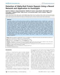 Plos Computational Biology : Detection o... by Bourne, Philip, E.