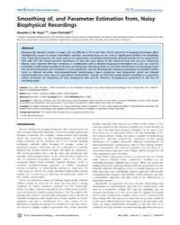 Plos Computational Biology : Smoothing O... by Friston, Karl, J.