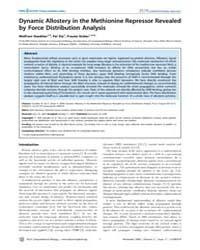 Plos Computational Biology : Dynamic All... by Stacklies, Wolfram