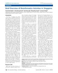 Plos Computational Biology : Brief Overv... by Eisenhaber, Frank