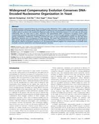 Plos Computational Biology : Widespread ... by Kenigsberg, Ephraim