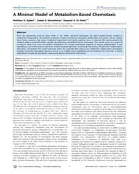 Plos Computational Biology : a Minimal M... by Egbert, Matthew D.
