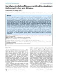 Plos Computational Biology : Identifying... by Tang, Jonathan