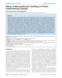 Plos Computational Biology : Effects of ... by Dong Hao