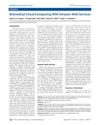 Plos Computational Biology : Biomedial C... by Fusaro Vincent A.