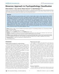 Plos Computational Biology : Biosensor A... by Misha Koshelev