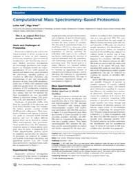 Plos Computational Biology : Computation... by Lukas Käll