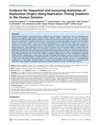 Plos Computational Biology : Evidence fo... by Guilbaud, Guillaume