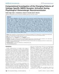 Plos Computational Biology : Computation... by Singh, Pallab