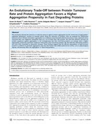 Plos Computational Biology : an Evolutio... by Baets, Greet, De