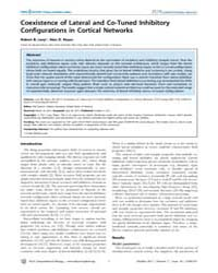 Plos Computational Biology : Coexistence... by Levy, Robert, B.