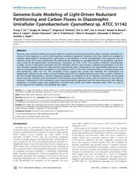 Plos Computational Biology : Genome-scal... by Vu, Trang T.