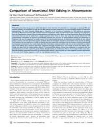 Plos Computational Biology : Comparison ... by Chen, Cai