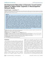Plos Computational Biology : Development... by Supekar, Kaustubh