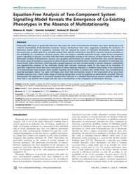 Plos Computational Biology : Equation-fr... by Hoyle, Rebecca B.
