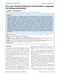 Plos Computational Biology : the Layer-o... by Raikov, Ivan