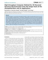 Plos Computational Biology : High-throug... by Lee, Ping-chang